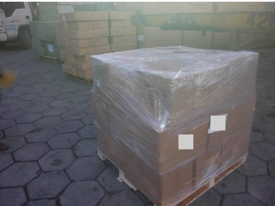 deliver goods to warehouse